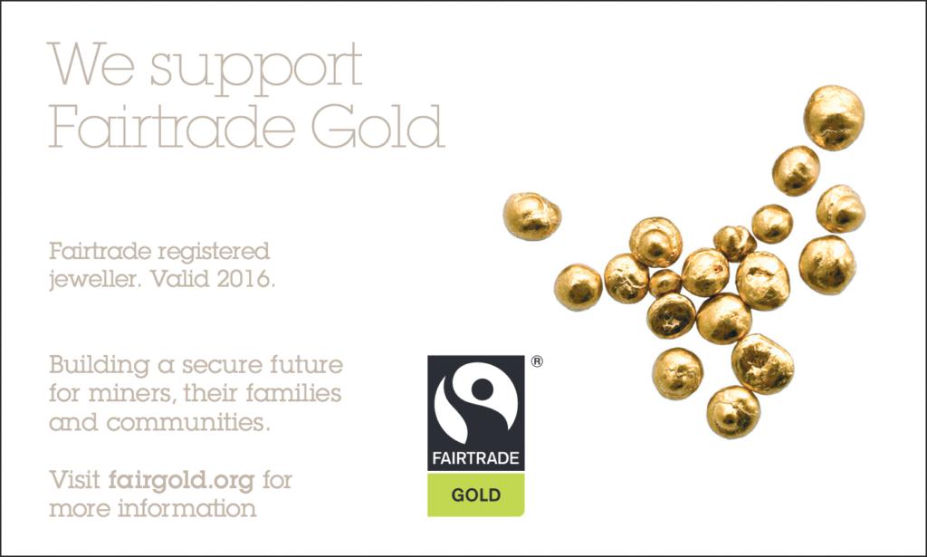 Fairtrade registrerad juvelerare