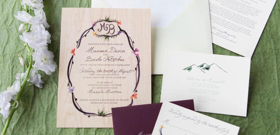 Vackra Inbjudningskort